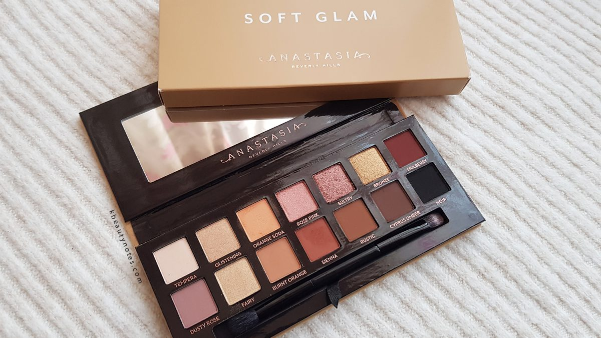 Anastasia Beverly Hills Soft Glam Eyeshadow Palette – Review and Swatches