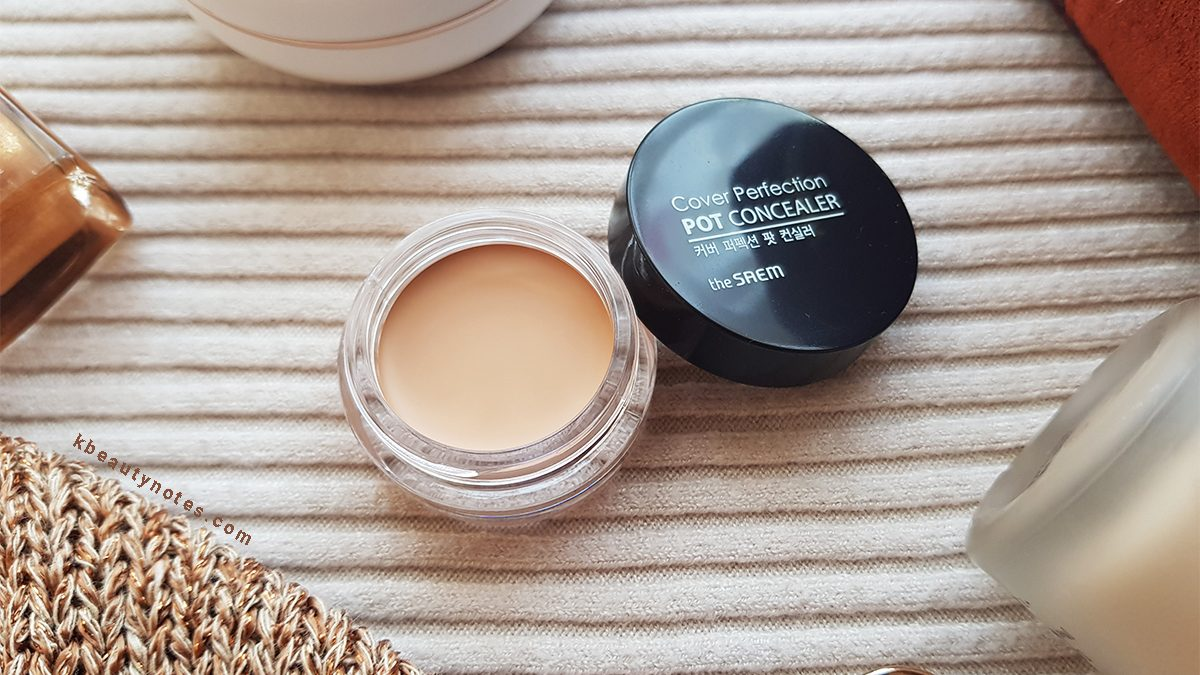 The Saem Cover Perfection Pot Concealer Review