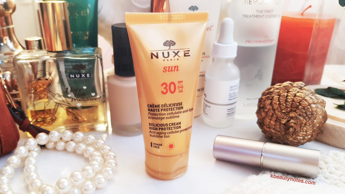 nuxe sunscreen review