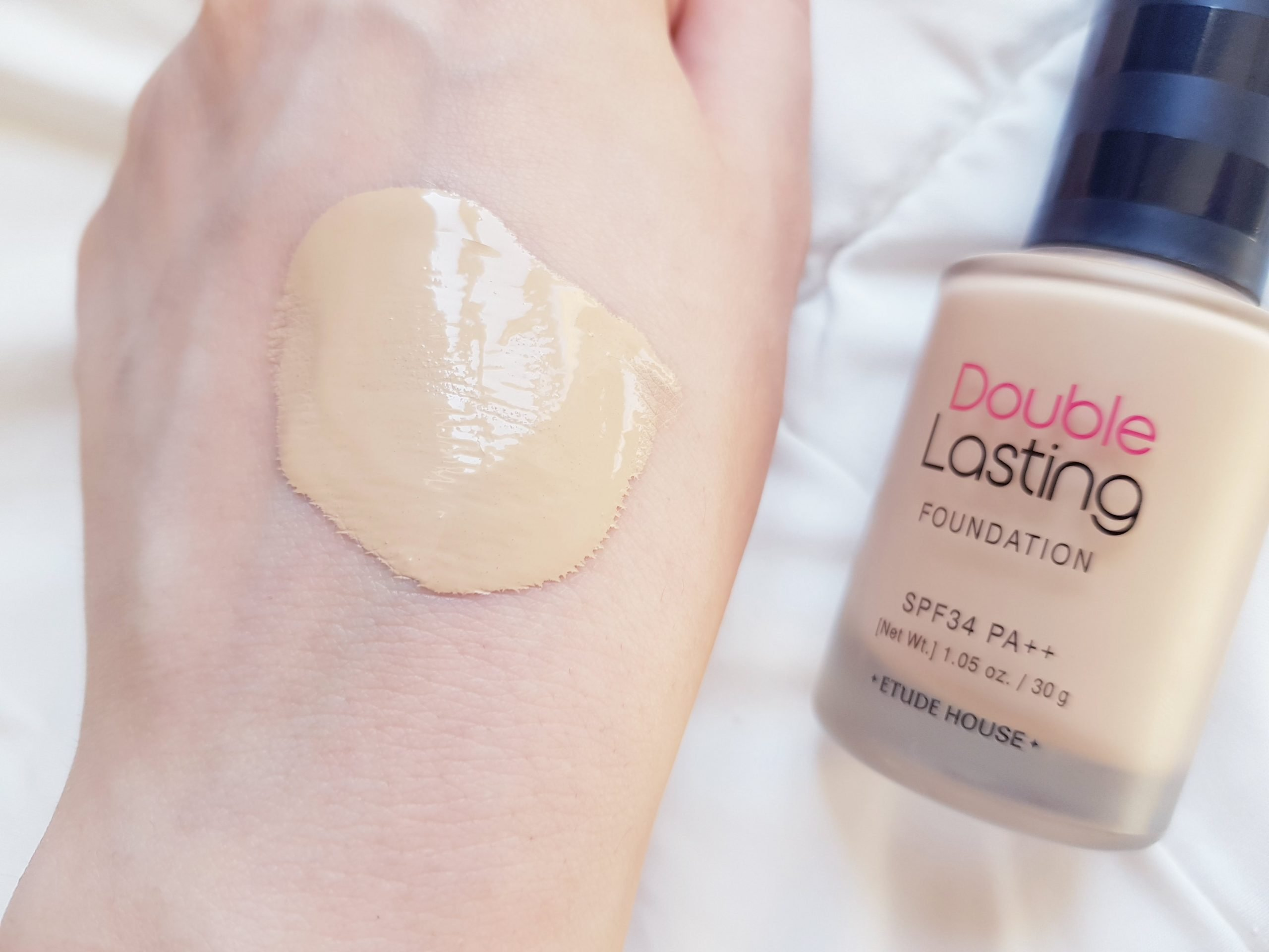 Etude House Double Lasting Foundation Review Kbeauty Notes
