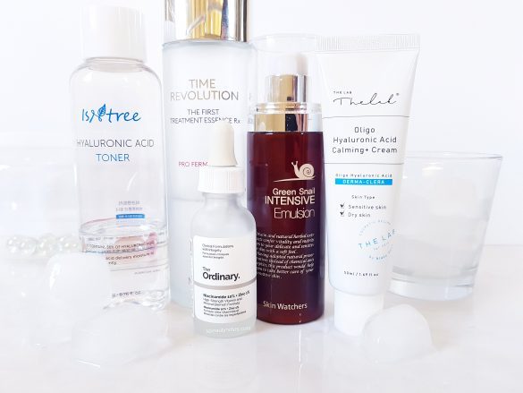 My simplified korean skincare routine