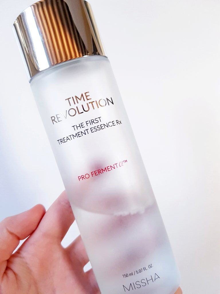MISSHA Time Revolution The First Treatment Essence Rx review