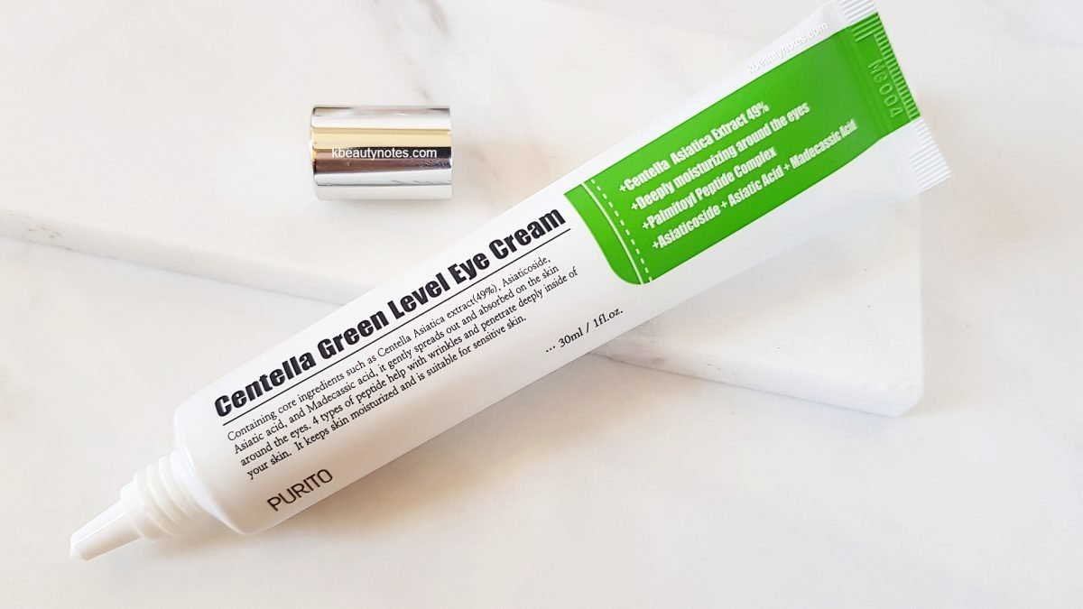 PURITO Centella Green Level Eye Cream Review