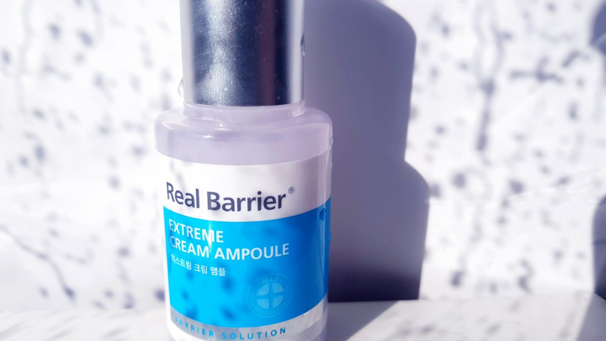 Review: Real Barrier Extreme Cream Ampoule